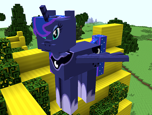 minecraft mine little pony mod download free