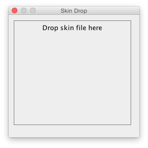 Drop window
