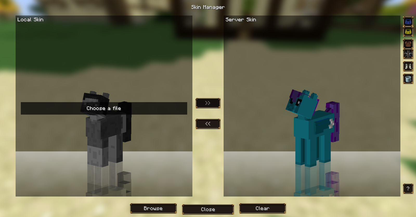 Skinning guide - Mine Little Pony: Ponify Minecraft!